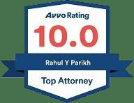 Avvo 10.00 Top Attorney