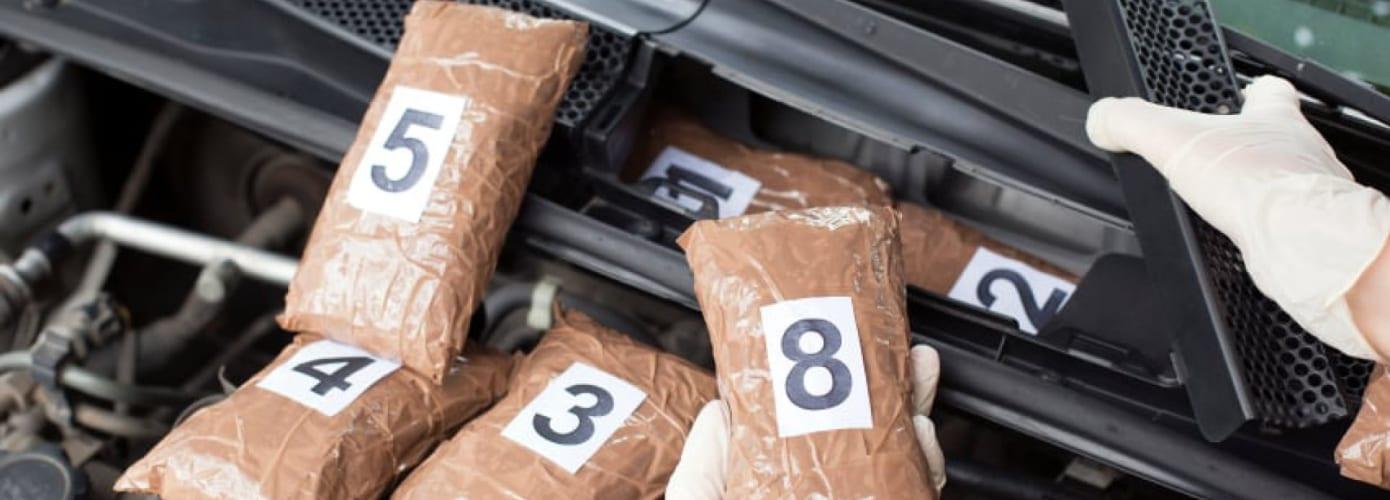 Drug Packaging In Car